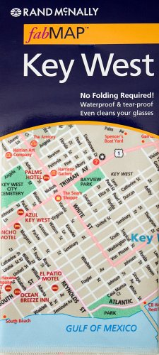 9780528868054: Rand McNally fabMAP Key West
