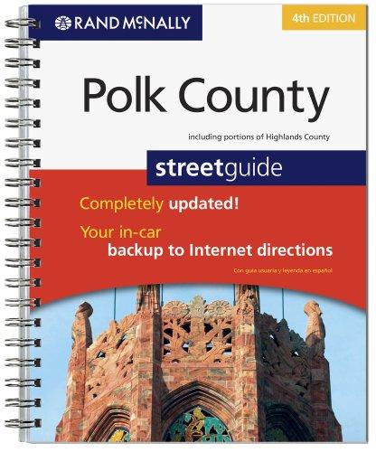 9780528868153: Rand Mcnally Polk County Street Guide, Florida