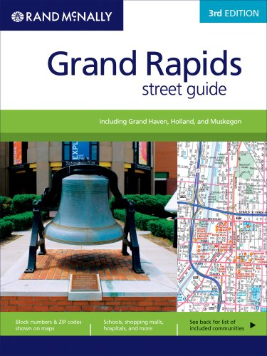 9780528868368: Rand McNally Grand Rapids Street Guide: Including Grand Haven, Holland, and Muskegon