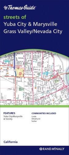 9780528868955: The Thomas Guide Streets of Yuba City & Marysville, Grass Valley/Nevada City, California