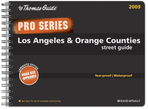 9780528870002: The Thomas Guide Pro Series Los Angeles & Orange Counties Street Guide (Thomas Guide Los Angeles & Orange Counties Street Guide (Pro))