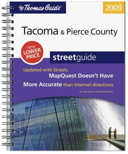 9780528870330: The Thomas Guide 2009 Tacoma/ Pierce County, Washington (Thomas Guide Tacoma & Pierce County Street Guide)
