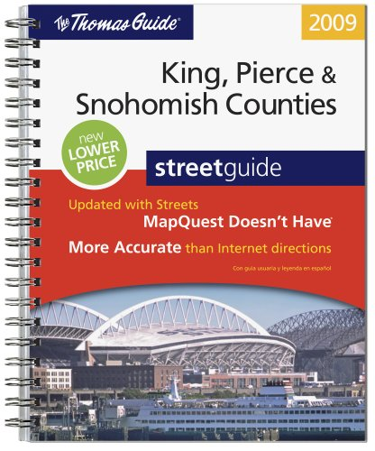 9780528870378: The Thomas Guide: King, Pierce, & Snohomish Counties Street Guide
