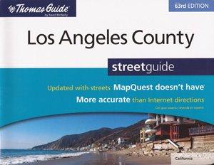 Thomas Guide Los Angeles County, 63rd Edition: McNally, Rand