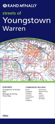 9780528872815: Streets of Youngstown/Warren, Ohio (Rand McNally Youngstown Street Guide)