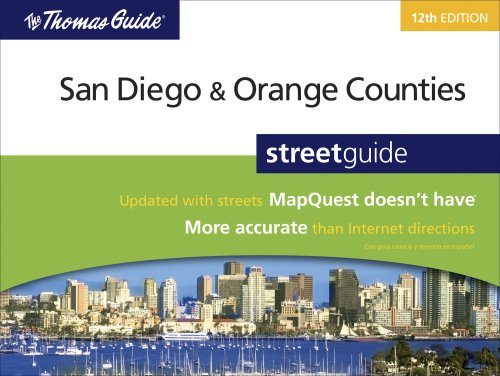 The Thomas Guide San Diego & Orange Counties Streetguide (Thomas Guide San Diego/Orange ...