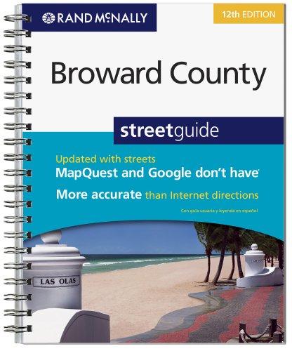 9780528873744: Rand McNally Broward County Street Guide, Florida