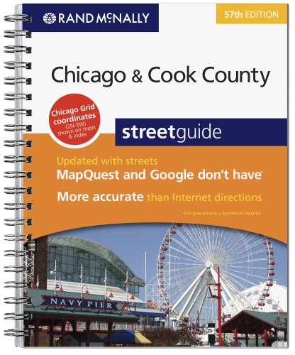 9780528874291: Rand Mcnally 2009 Chicago & Cook County Street Guide (Rand Mcnally Street Guide) (English and Spanish Edition)
