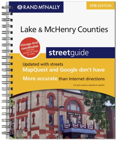 9780528874314: Sg 57ed Lake & McHenry Co., Il (Rand McNally Lake & McHenry Counties Street Guide)