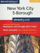 9780528874451: Rand McNally New York City 5-Borough Street Guide
