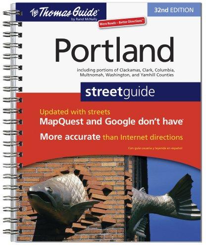 9780528874505: The Thomas Guide Portland Street Guide (Thomas Guide Portland Oregon)