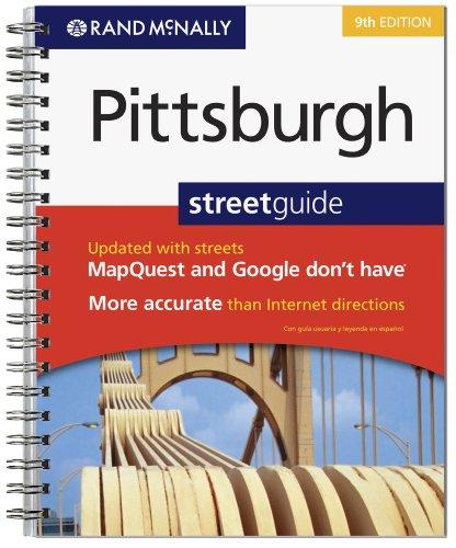 9780528874581: Rand McNally Pittsburgh Street Guide