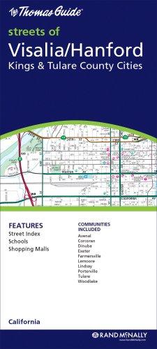 9780528875366: Visalia/ Hanford/Kings & Tulare County Cities