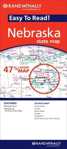 9780528875892: Rand Mcnally Easy to Read Nebraska