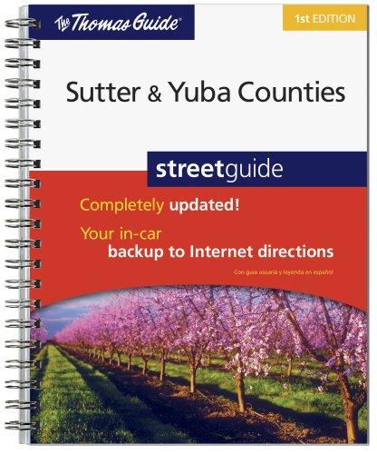 9780528875991: Street Guide Sutter & Yuba Counties, California