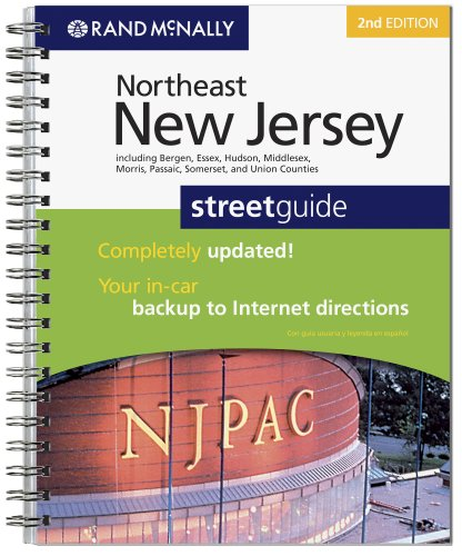 9780528876738: Rand McNally Northeast New Jersey: Street Guide