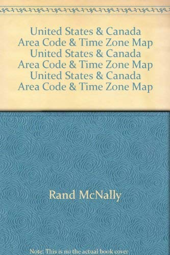 United States Canada Area Code Time Zone Map - Time zone by area code