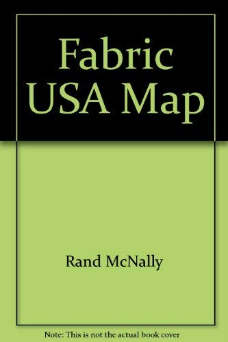 Fabric USA Map (0528877488) by Rand McNally