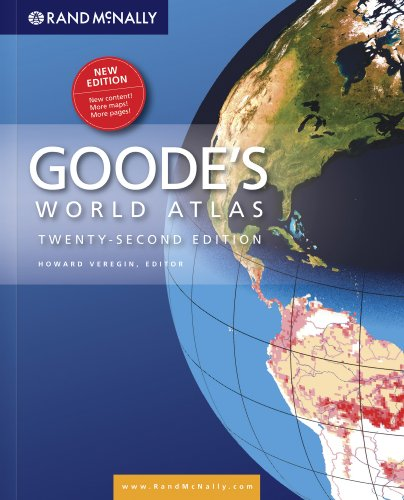 9780528877544: Goodes Atlas 22nd Hardcover (Goode's World Atlas)