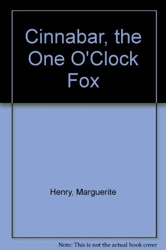 9780528877681: Cinnabar, the One O'Clock Fox
