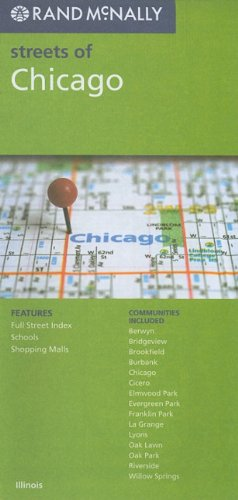 9780528879753: Rand McNally Streets of Chicago, Illinois
