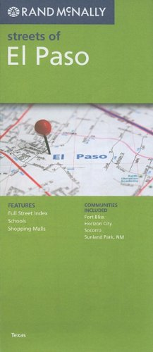 9780528879814: Rand McNally Folded Map: El Paso (Rand McNally Streets Of...)