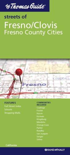 9780528879845: The Thomas Guide Streets of Fresno/Clovis: Fresno County Cities