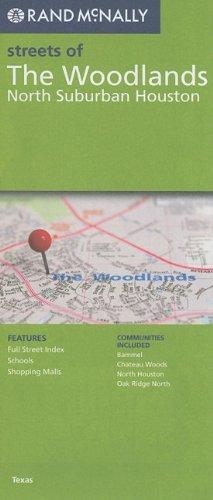 9780528879883: Rand McNally Folded Map: North Suburban Houston (Rand McNally Streets Of...)