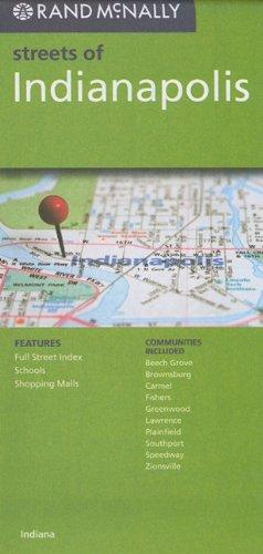 9780528879913: Rand McNally Streets of Indianapolis
