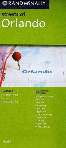 9780528880254: Rand McNally Streets of Orlando: Florida