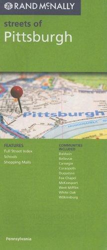 9780528880377: Rand McNally Streets of Pittsburgh, PA