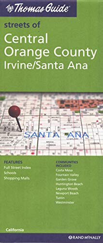 9780528880438: **Central Orange Irvine Anaheim (Thomas Guide Streets Of...)