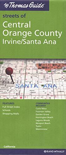 9780528880438: **Central Orange Irvine Anaheim (Thomas Guide Streets Of...)