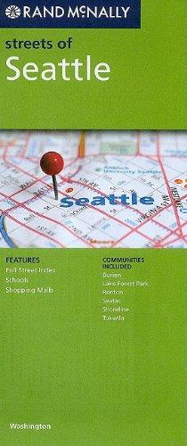 9780528880520: Rand McNally Streets of Seattle: Washington