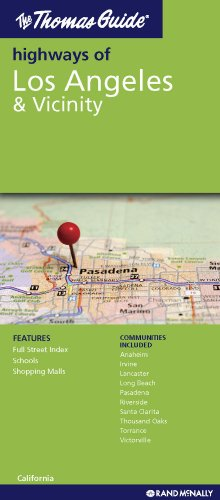 9780528880940: The Thomas Guide Highways of Los Angeles & Vicinity