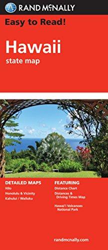 Folded Map Hawaii State Map AbeBooks Rand - Rand mcnally easy to fold maps