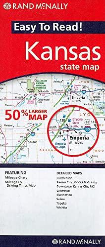9780528881299: Rand McNally Easy to Read! Kansas