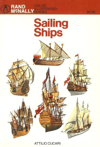 9780528881725: Sailing ships (Rand McNally color illustrated guides)