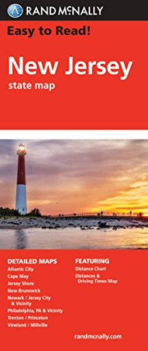 9780528881862: Rand McNally Easy to Read! New Jersey