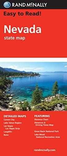 9780528881893: Rand McNally Nevada: State Map
