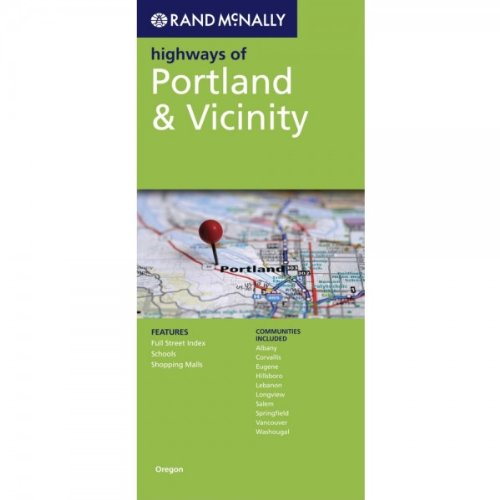 9780528882647: Rand McNally Folded Map: Portland Highways (Rand McNally Highways Of...)