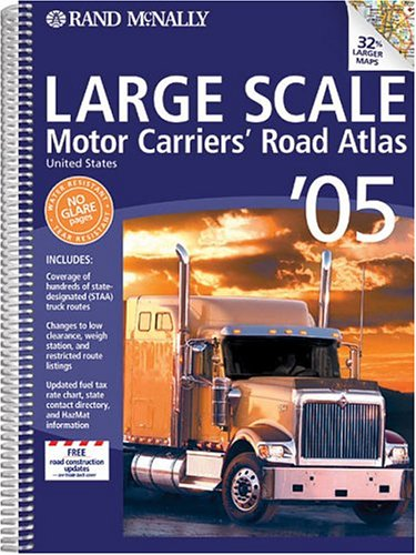 9780528900631: Rand McNally 2005 Large Scale Motor Carriers' Road Atlas: United States (Rand McNally Large Scale Motor Carriers' Road Atlas)