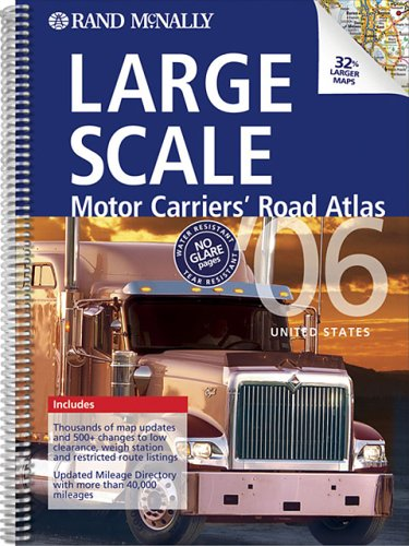 Rand Mcnally 2006 Large Scale Motor Carriers' Road Atlas (Rand Mcnally Large Scale Motor Carriers...