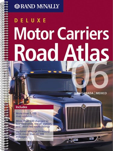 9780528900730: Rand McNally 2006 Motor Carriers' Road Atlas (Rand Mcnally Motor Carriers' Road Atlas Deluxe Edition)
