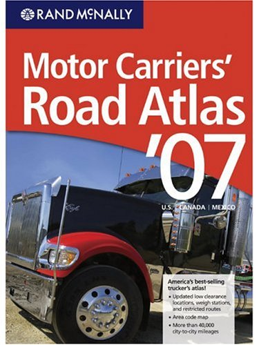 9780528900778: Rand McNally 2007 Motor Carriers' Road Atlas (Rand Mcnally Motor Carriers' Road Atlas)