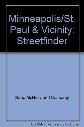 9780528912627: Minneapolis/St. Paul & Vicinity: Streetfinder