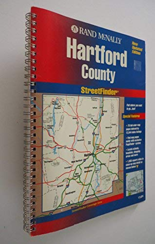 Rand McNally Hartford: Streetfinder (Rand Mcnally Streetfinders): Rand McNally