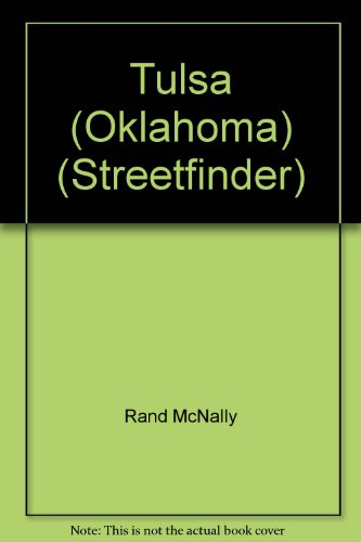 9780528913228: Rand McNally Tulsa and Vicinity Streetfinder (Streetfinder Atlas)