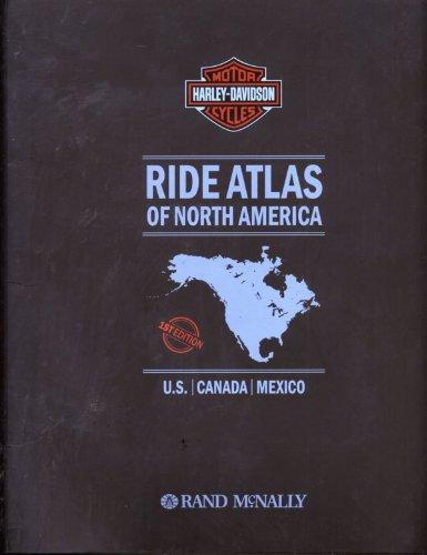 9780528935152: Harley Davidson Ride Atlas of North America