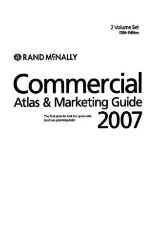 9780528938528: Rand McNally 2007 Commercial Atlas and Marketing Guide (Rand Mcnally Commercial Atlas and Marketing Guide)(2 vol set)